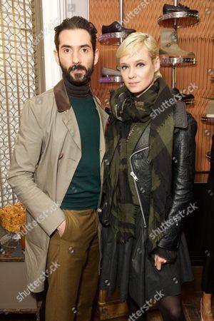 Editorial photo of Christian Louboutin Party, London Fashion Week Mens, UK - 09 Jan 2017