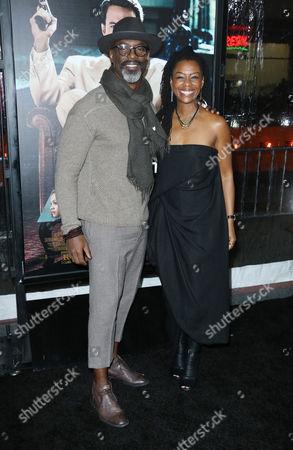 Isaiah Washington and Jenisa Garland
