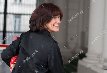 Belgium's Vice-prime Minister and Minister of Social Affairs and Public Health Laurette Onkelinx Arrives For a Cabinet Ministers Council Meeting in Brussels Belgium 22 October 2012 the Belgian Federal Government Must Find a 4 5 Billion Euros For the New 2012/2013 Budget Year Belgium Brussels