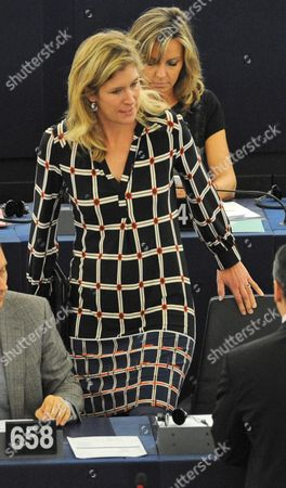 German Liberal Eu Deputy Silvana Koch-mehrin is Seen at the Plenary Session of the European Parliament in Strasbourg France 23 October 2012 Koch-mehrin Will not to Run Again For the European Parliament in the Next European Elections in 2014 France Strasbourg