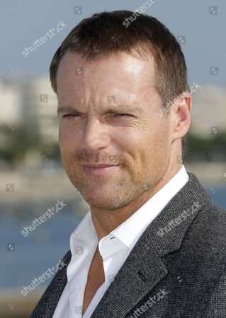 Canadian Actor Michael Shanks Poses During a Photocall For the Tv Series 'Saving Hope' at the Annual Mipcom Television Content Market in Cannes France 08 October 2012 the Media Event Runs From 08 to 11 October France Cannes