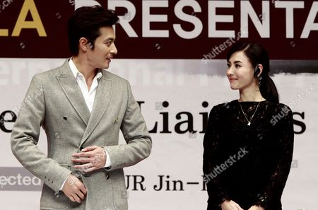 South Korean Actor Jang Dong-gun (l) and Chinese Actress Cecilia Cheung (r) Attend the Gala Presentation of Their Movie 'Dangerous Liaisons' at the 17th Busan International Film Festival (biff) in Busan South Korea 05 October 2012 the Film Festival Showcasing 307 Movies From 75 Countries Takes Place From 04 to 13 October Korea, Republic of Busan