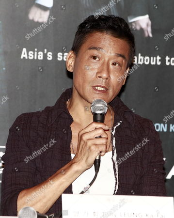 Hong Kong Actor Tony Leung Ka-fai Speaks During a Press Conference For the Film 'Cold War' at the 17th Busan International Film Festival (biff) Plaza in Busan South Korea 04 October 2012 the Festival Runs From 04 to 13 October 2012 Korea, Republic of Busan