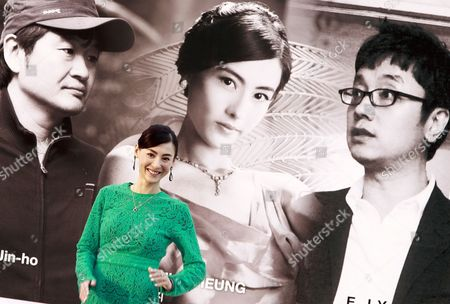 Stock Image of Chinese Actress Cecilia Cheung Poses at an Open Talk of the 17th Busan International Film Festival (biff) in Busan South Korea 06 October 2012 the Film Festival Showcasing 307 Movies From 75 Countries Takes Place From 04 to 13 October Korea, Republic of Busan
