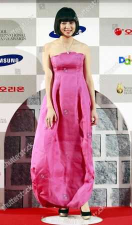 South Korean Actress Lim Ju-wang Arrives For the Seventh Annual Seoul International Drama Awards 2012 at the National Theater in Seoul South Korea 30 August 2012 Some 201 Drama Movies From 45 Countries Were Submitted For the Competition Korea, Republic of Seoul