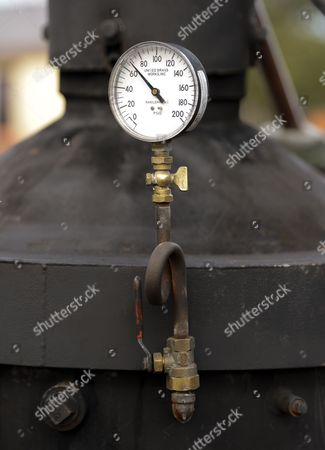 A Picture Made Available on 27 March 2013 Shows a Pressure Gauge on the Boiler of the Original African Queen in Key Largo Florida Usa 21 March 2013 the Boat was Built in England in 1912 and Then Used in the Famous 1951 Movie 'The African Queen' Starring Humphrey Bogart and Katharine Hepburn the Steam-operated Boat Has Been Completely Restored and Takes Film Buffs and Tourists on Area Cruises United States Key Largo