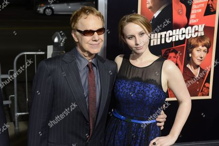 Us Singer/composer Danny Elfman (l) and Daughter Mali Elfman (r) Arrive For the Premiere of Hitchcock at the Academy of Motion Pictures Arts and Sciences in Beverly Hills California Usa 20 November 2012 United States Beverly Hills