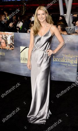 Us Actress and Cast Member Andrea Powell Arrives For the World Premiere of 'The Twilight Saga: Breaking Dawn - Part 2' in Los Angeles California Usa 12 November 2012 United States Los Angeles