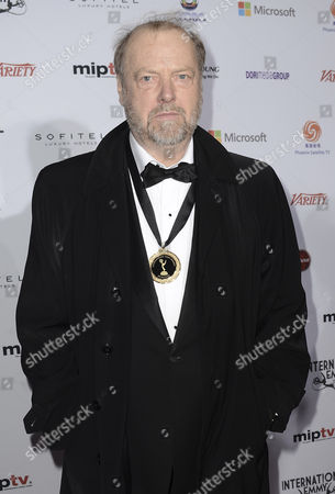 Stock Photo of Norwegian Actor Stein Winge Arrives at the 40th International Emmy Awards Gala Held at the Hilton Hotel Mercury Ballroom New York City New York Usa 19 November 2012 United States New York City