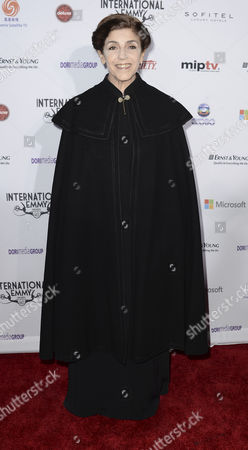 Stock Image of Argentinean Actress Cristina Banegas Arrives at the 40th International Emmy Awards Gala Held at the Hilton Hotel Mercury Ballroom New York City New York Usa 19 November 2012 United States New York City