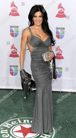 Stock Photo of Socialite Shirley Pineiro Arrives For the 13th Annual Latin Grammy Awards in Las Vegas Nevada Usa 15 November 2012 United States Las Vegas