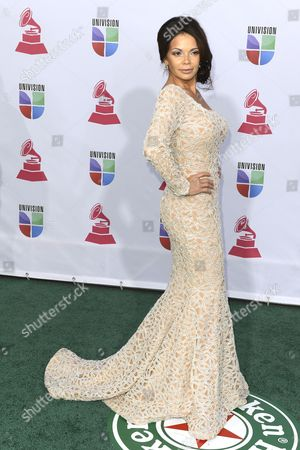 Tv Personality Julie Ferretti Arrives For the 13th Annual Latin Grammy Awards in Las Vegas Nevada Usa 15 November 2012 United States Las Vegas