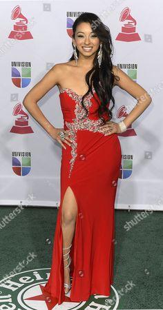 Desiree Estrada Arrives For the 13th Annual Latin Grammy Awards in Las Vegas Nevada Usa 15 November 2012 United States Las Vegas