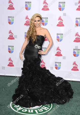 Stock Image of Mexican American Actress and Singer Christina T-lopez Arrives For the 13th Annual Latin Grammy Awards in Las Vegas Nevada Usa 15 November 2012 United States Las Vegas