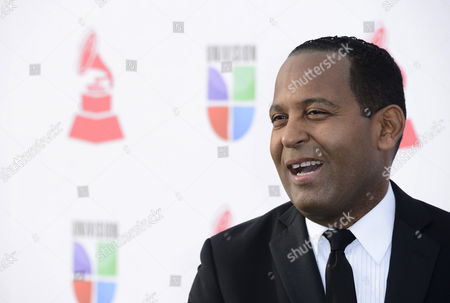 Dominican Republic Tv Personality Tony Dandrades Arrives For the 13th Annual Latin Grammy Awards in Las Vegas Nevada Usa 15 November 2012 United States Las Vegas