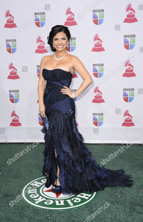 Life Coach Karen Hoyos Arrives For the 13th Annual Latin Grammy Awards in Las Vegas Nevada Usa 15 November 2012 United States Las Vegas