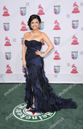 Life Coach Karen Hoyos Arrives For the 13th Annual Latin Grammy Awards in Las Vegas Nevada Usa 15 November 2012 United States Las Vegas