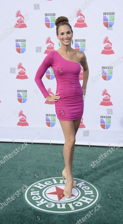 Tv Personality Danielle Demski Arrives For the 13th Annual Latin Grammy Awards in Las Vegas Nevada Usa 15 November 2012 United States Las Vegas