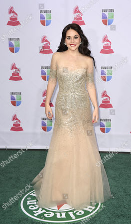 Mexican Actress and Singer Zuria Vega Arrives For the 13th Annual Latin Grammy Awards in Las Vegas Nevada Usa 15 November 2012 United States Las Vegas