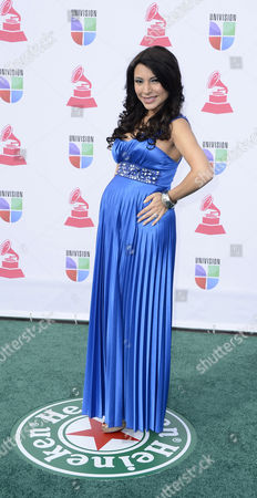 Stock Picture of Colombian-born Entrepreneur Liliana Gil Arrives For the 13th Annual Latin Grammy Awards in Las Vegas Nevada Usa 15 November 2012 United States Las Vegas