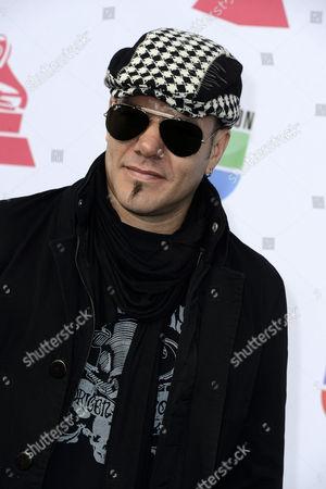 Singer Fernando Ruiz Diaz of the Band Catupecu Machu Arrives For the 13th Annual Latin Grammy Awards in Las Vegas Nevada Usa 15 November 2012 United States Las Vegas