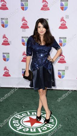 Stock Image of Singer Rosario Ortega Arrives For the 13th Annual Latin Grammy Awards in Las Vegas Nevada Usa 15 November 2012 United States Las Vegas