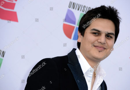Stock Image of Musician Regulo Caro Arrives For the 13th Annual Latin Grammy Awards in Las Vegas Nevada Usa 15 November 2012 United States Las Vegas