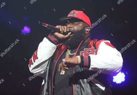 Us Rapper William Leonard Roberts Aka Rick Ross Performs at Bankers Life Fieldhouse in Indianapolis Indiana Usa 20 November 2012 United States Indianapolis