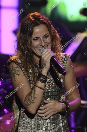 La Mari Performs at the Xiii Annual Latin Grammy Person of the Year Tribute at the Mgm Grand Hotel and Casino in Las Vegas Nevada Usa 14 November 2012 Brazilian Singer Caetano Veloso is Receiving the Person of the Year Tribute United States Las Vegas