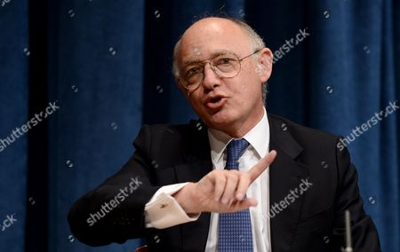 Hector Marcos Timerman Minister For Foreign Affairs of Argentina Speak to Media About the Falkland Islands at United Nations Headquarters in New York New York Usa 07 March 2013 United States New York