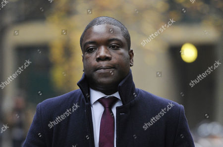 Stock Picture of Kweku Adoboli Arrives at the Southwark Crown Court where He Stands Trial on Charges of Fraud by Abuse of Position and False Accounting London Britain 16 November 2012 Adoboli is Accused of Undertaking Unauthorised Trading at Swiss Bank Ubs That Resulted in a 2 Billion Us Dollar Loss For the Bank One of the Biggest Ever Cases of Alleged Unauthorised Trading the Jury Has Retired to Consider Their Verdict United Kingdom London