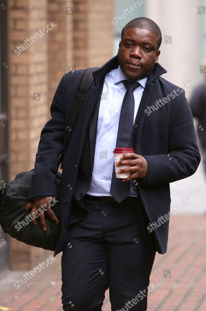 Kweku Adoboli Arrives at the Southwark Crown Court Southwark London Britain 19 November 2012 where He Stands Trial on Charges of Fraud by Abuse of Position and False Accounting Reports State That Adoboli is Accused of Undertaking Unauthorised Trading at Swiss Bank Ubs That Resulted in a 2 Billion Us Dollar Loss For the Bank One of the Biggest Ever Cases of Alleged Unauthorised Trading the Jury Has Retired to Consider Their Verdict United Kingdom London