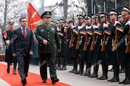 Editorial picture of Fyrom China Defence Minister Visits - Jan 2013