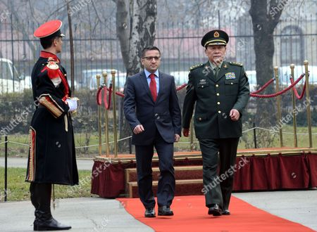 Editorial image of Fyrom China Defence Minister Visits - Jan 2013