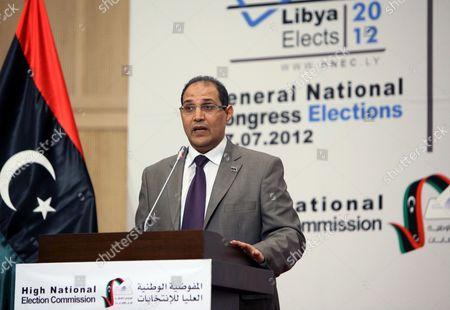 Editorial image of Libya Elections - Aug 2012