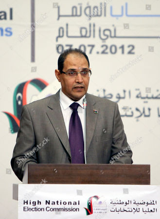 Editorial photo of Libya Elections - Aug 2012