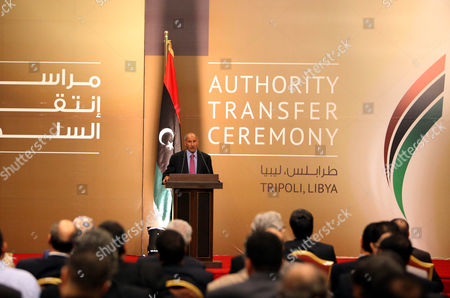 Editorial picture of Libya Transfer of Power - Aug 2012