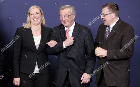 Editorial image of Belgium Eu Ecofin Finance Ministers Meeting - Jan 2013