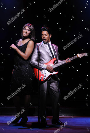 Actors Emi Wokoma (l) As 'Tina Turner' and Chris Tummings (r) As 'Ike Turner' Perform During a Photocall For 'Soul Sister' at the Savoy Theatre in the Strand London Britain 22 August 2012 the Musical Which is Inspired by the Life Music and Times of Us Singer Tina Turner and Her Former Husband Ike Turner Will Be Staged at the Savoy Theatre From 20 August to 29 September United Kingdom London