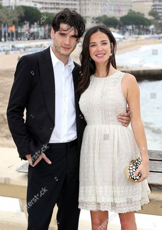 Spanish Actress Paula Prendes Martinez (r) and Spanish Actor Yon Gonzalez Luna (l) Pose During a Photocall For the Tv Series 'Grand Hotel' at the International Audiovisual and Digital Content Market Miptv 2013 Held at the Festival Palace in Cannes France 08 April 2013 the Miptv Which Runs From 08 to 11 April is One of the World's Leading International Trade Events Dedicated to International Television Programs and to Digital Content and Interactive Entertainment For All Platforms France Cannes