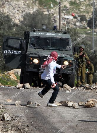 Editorial photo of Mideast Palestinians Israel Conflict Protest - Feb 2013