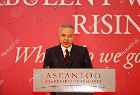 Raja Nazrin Shah Crown Prince of the State of Perak Malaysia Gives an Opening Keynote Address Entitled 'Asean at Crossroads: Staying Together Or Drifting Apart?' at Asean 100 Leadership Forum in Yangon Myanmar 05 December 2012 Nobel Laureate Myanmar Democracy Icon Aung San Suu Kyi Will Also Attend the Forum As an Invited Speaker on 06 December 2012 Myanmar Yangon