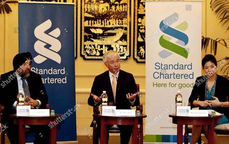 Editorial image of Myanmar Economy Business Standard Chartered Bank - Feb 2013