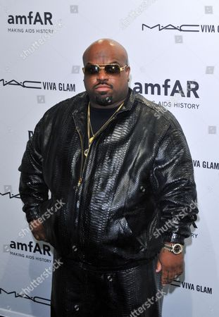 Us Singer-songwriter Rapper Record Producer and Actor Thomas Decarlo Callaway Aka Cee Lo Green Attends the American Foundation For Aids Research (amfar) New York Gala to Kick Off Fall 2013 Fashion Week at Cipriani Wall Street in New York New York Usa 06 February 2013 the Fall 2013 Collections Are Presented From 07 to 14 February United States New York