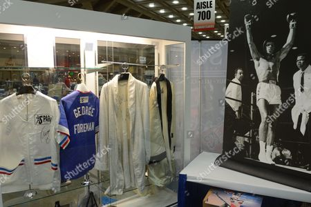 Editorial picture of Usa Boxing Memorabilia Auction - Aug 2012