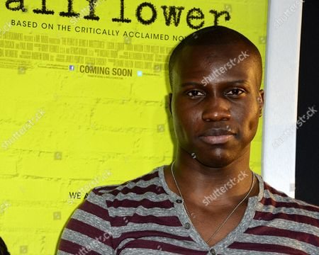 Senegalese Actor Amadou Ly Arrives For the Los Angeles Premiere of 'The Perks of Being a Wallflower' in Hollywood California Usa 10 September 2012 the Movie Opens in Us Theatres on 21 September United States Hollywood