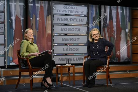 Editorial picture of Usa Goverment Clinton - Jan 2013