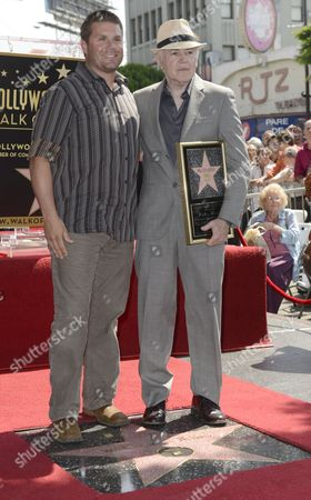 Us Producer Rod Roddenberry (l) the Son of Star Tek Creator Gene Roddenberry Poses with Us Actor Walter Koenig (r) During a Ceremony Honoring Koenig with a Star on the Hollywood Walk of Fame in Hollywood California Usa 10 September 2012 Koenig is One of the Original Cast Members of the Star Trek Television Series and His Acting Career Spans 50 Years of Stage Television and Film Work Koenig's is the 2 479th Star on the Hollywood Walk of Fame United States Hollywood
