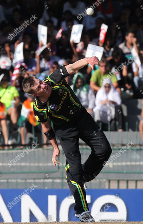 Australian Bowler Xavier Doherty Releases the Ball During the the Super Eight Stage Match of the World Twenty20 Tournament Between South Africa and Australia at Colombo Sri Lanka on 30 September 2012 Sri Lanka Colombo