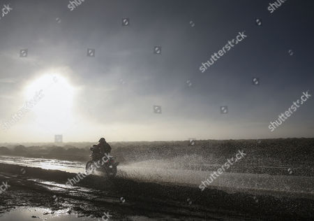 Argentinian Diego Martin Duplessis of KTM team in action during the eighth stage of the Rally Dakar 2017 between Uyuni (Bolivia) and Salta (Argentina), 10 January 2017.